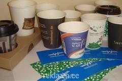 Kohvitopsid, papptopsid trükiga
