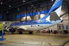 KLeebised Estonian Airi lennukil