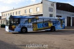 Saku Ice reklaambuss Pärnus