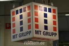 MT Grupp reklaamkast