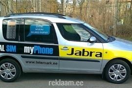 Auto reklaamkleebised
