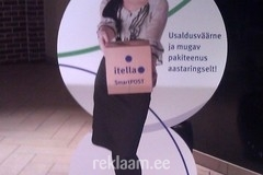 Itella Smartpost reklaambänner
