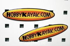 Hobby Kayak kristallkleebis magnetiga