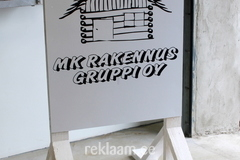 MK Rakennus Gruppi OY reklaamsilt