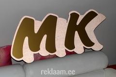 MK Rakennus freesitud reklaamtähed