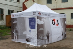 G4S POP-UP telk logodega