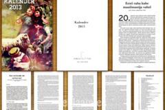 Raamat/Kalender