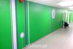 Kleebisega disainitud seinad