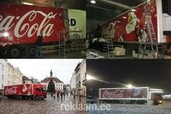 Coca-Cola autokleebis