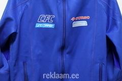 CFC treeningjakile logode trükkimine