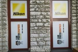 Nikon poe perforeeritud akna kleebised