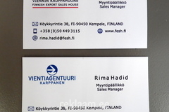Vientiagentuuri kahepoolne visiitkaart