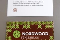 Nordwood visiitkaardi trükk