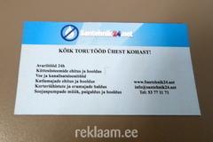 Santehnik24 visiitkaart