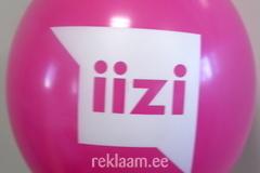 Iizi logoga õhupall