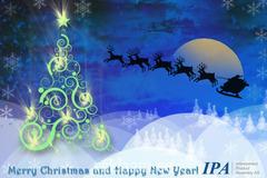 Animeeritud IPA jõulukaart