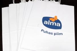 Alma paberkotid logoga