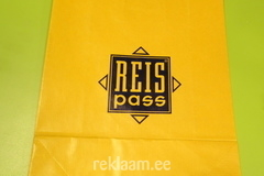Reispass logoga paberkott