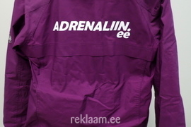 Adrenaliin logooga spordijakk