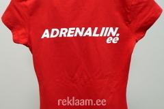 Adrenaliin logoga t-särk