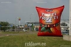 Tutti Frutti kommid - täispuhutav kommipakk