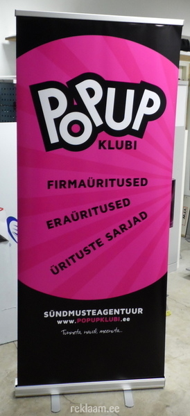 Popup logoga roll up