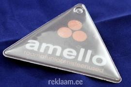 Amello logoga helkur