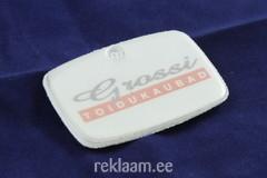 Grossi Toidukaubad logoga helkur