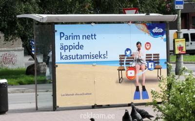 Ootepaviljoni reklaam