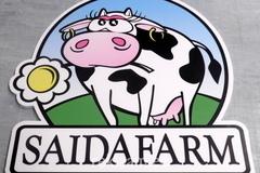 Erikujuline logosilt Saidafarm