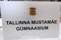 Mustamäe Gümnaasium fassaadisilt