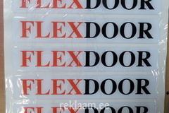 Flexdoor kristallkleebised