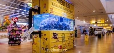 Salva Kindlustuse reklaami erilahendus Tallinna Lennujaamas