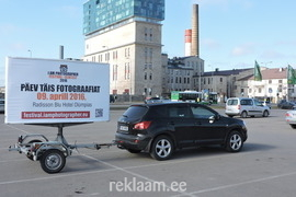 Fotofestivali liikuv reklaamtreiler