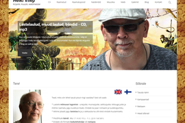 Kirjanik Heiki Vilepi koduleht ja raamatupood
