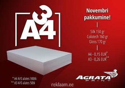 Agrata Print kampaania