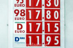 Lukoili hinnatahvel