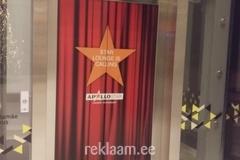 Reklaamkleebised lifti uksele