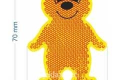 Kõvapinnaline helkur Karu