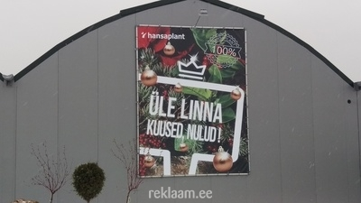 Hansaplant reklaambanner