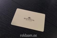 Hedon Spa hotel visiitkaart