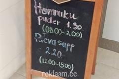 Kohviku reklaamtahvel
