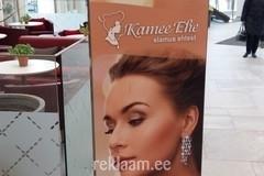 Kamee Ehe metallist kahepoolne reklaamkonstruktsioon