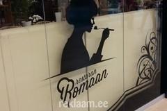 Restoran Romaan interjöörkleebised