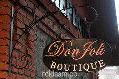 Don Foli metallist välireklaam