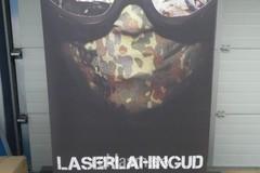 Laserlahingud roll up
