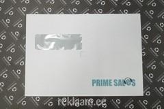 Prime Sales logoga ümbrik