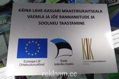 EL Ühtekuuluvusfondi silt