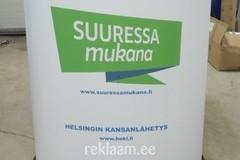 Logoga reklaamlaud