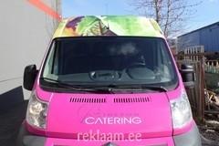 Catering reklaamkleebised